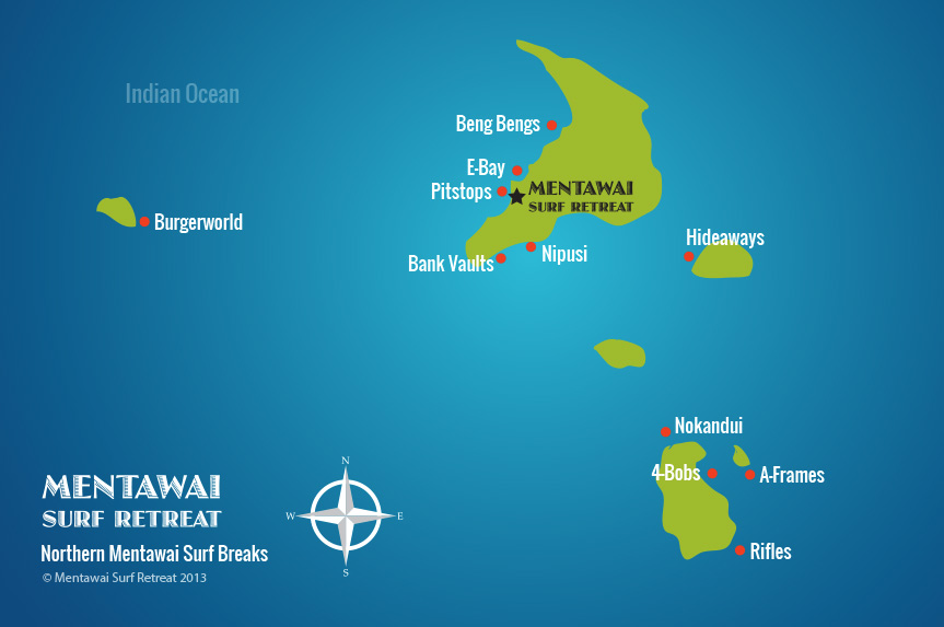 North Mentawai Islands, Sumatra, Indonesia