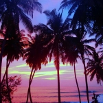Beautiful Mentawai Sunset